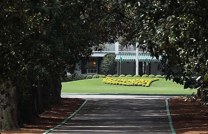 """They are going to grab whatever they can grab to further isolate themselves and keep from being bordered by homes. They ideally would like to move to the country. If they can't move to the country, they are moving the country to the course.""                           --Augusta, Ga., hospitality house owner Steve Parry on Augusta National's $8.3 million purchase of a nearby apartment complex to use as a parking lot."