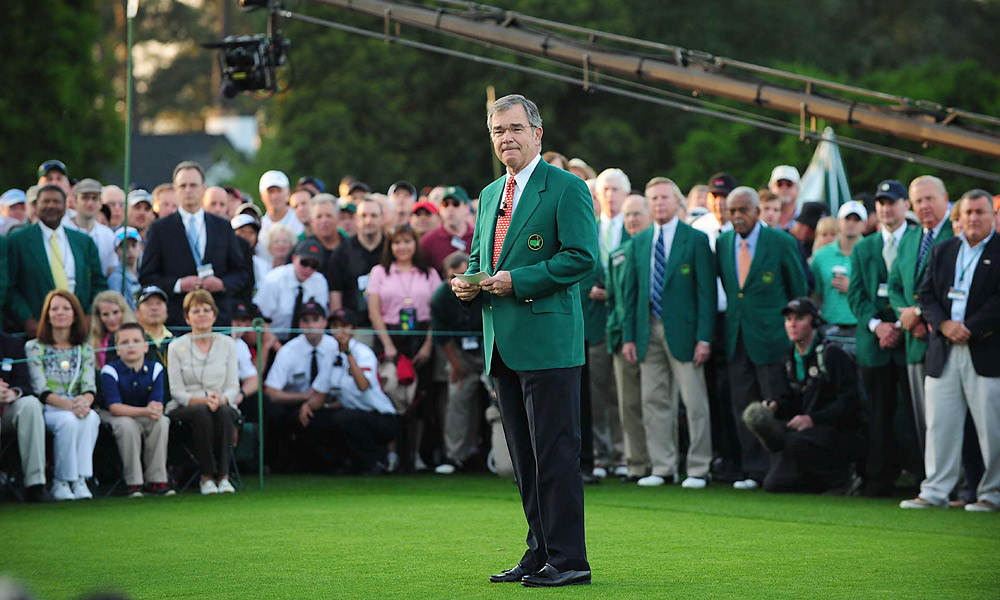 "Augusta National's adding two female members                           In August, Augusta National Golf Club announced two new members to its exclusive group: former Secretary of State Condoleezza Rice and financier Darla Moore, the club's first female members. Club Chairman Billy Payne called it a ""joyous occasion,"" and the controversy that has marked many Masters press conferences was finally over."