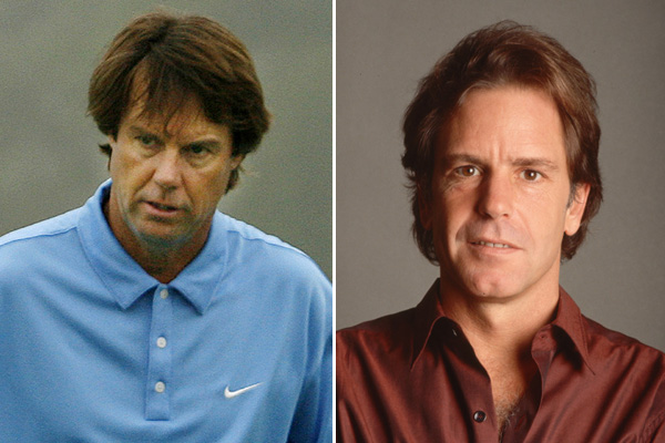Paul Azinger and Grateful Dead singer/guitarist Bob Weir