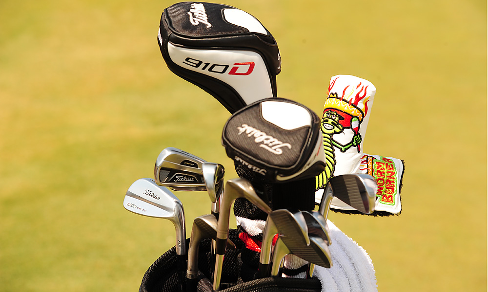 Marc Leishman plays Titleist's Forged 712 MB irons, but his 3- and 4-irons are Titleist Forged 712 AP2s.
