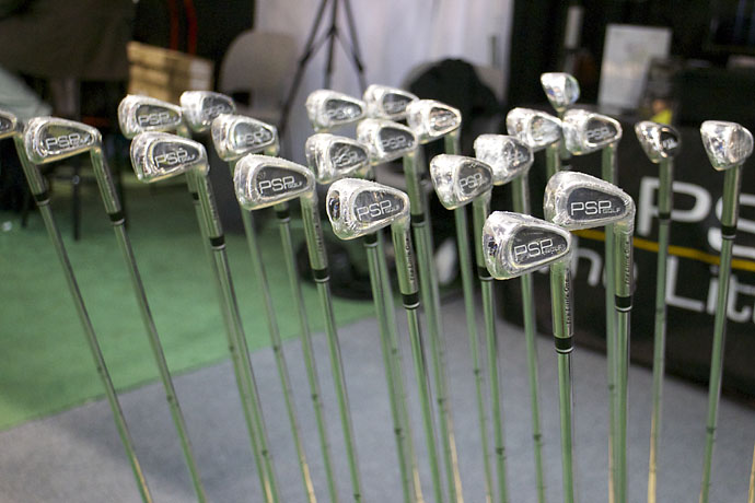 PSP Golf makes 7-irons with a clubface barely larger than a golf ball to help you make better contact. These tiny clubs are endorsed by Sean Foley, not, as you might expect, by Ian Woosnam. You can buy the club for $99.95 at TLOgolf.com.