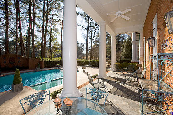 There is a heated pool and spa in the backyard.                        • See the listing at Meybohm Realtors                       • Return to Dream Homes