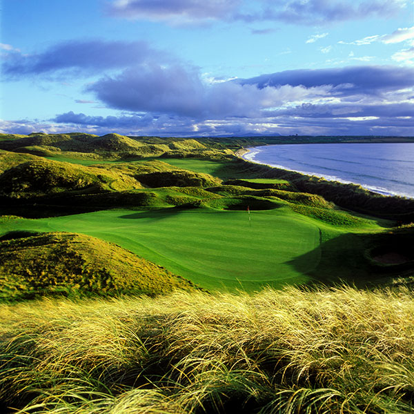 6. Ballybunion (Old), Ballybunion, Ireland: Ranked No. 17 in the world, this Southwest Ireland gem is wedged between huge sandhills and the Atlantic Ocean.