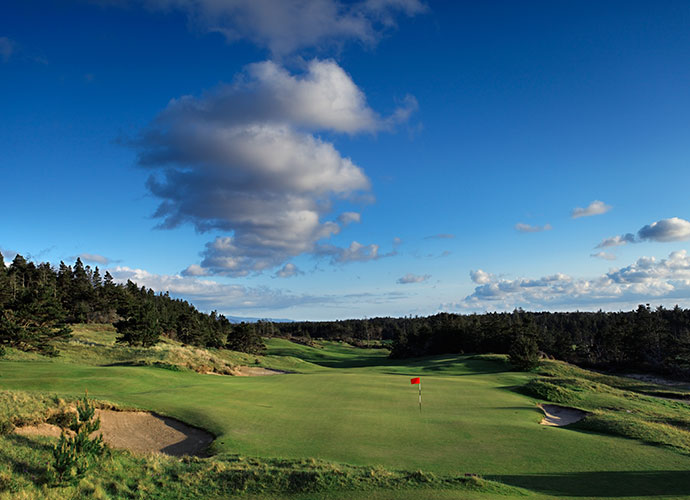 Bandon Trails Bandon, Ore.; Bill Coore/Ben Crenshaw (2005) -- $75-$295, bandondunesgolf.com