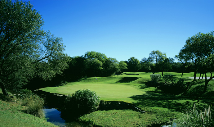 Barton Creek (Fazio Foothills) -- Austin                       Home to the Senior set's Liberty Mutual Legends of Golf from 1990-1994, the original of Barton Creek's courses saw the teams of Lee Trevino/Mike Hill and Dale Douglass/Charles Coody both win twice. ($150-$250; 512-329-4653, bartoncreek.com)