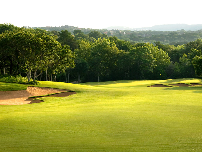 Barton Creek (Fazio Canyons) -- Austin                           Tom Fazio's successful 2000 follow-up to his Foothills course is located two miles from the resort, but it's worth the effort to lock horns with gorgeously sculpted holes, several that are bisected by limestone bed creeks. ($150-$250; 512-329-4653, bartoncreek.com)