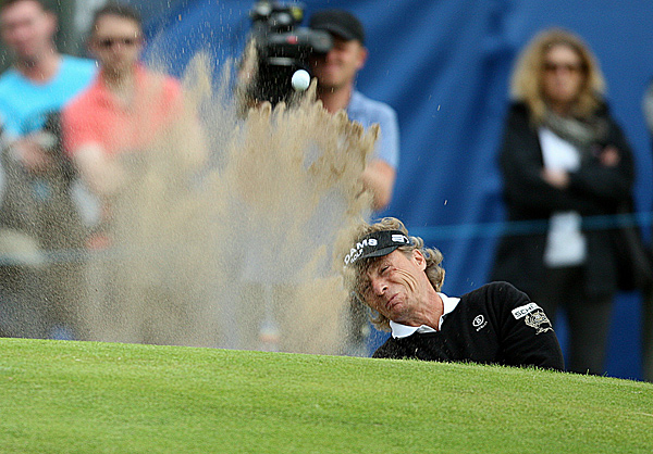 Langer has been the most consistent golfer at Carnoustie through the first 54 holes.