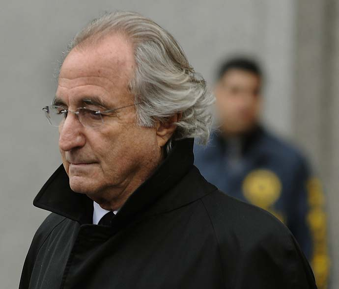 Bernie Madoff noun a great lie and a lot of green to work with