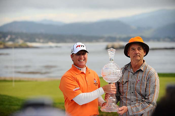 D.A. Points and Bill Murray won the pro-am at the 2011 AT&T Pebble Beach National Pro-Am and Points won the tournament. Now that's the kind of day you could repeat over and over.