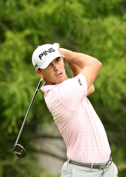 Billy Horschel birdied the last two holes to build a two-shot lead heading into the weekend.