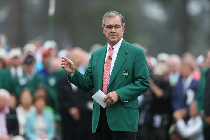 """I think it's fair to say that one of the tenets that we hold to most dearly is that, you know, it is limited. And I think because it is, it makes it a little more special.""                           --Augusta National Chairman Billy Payne on why the Masters limits television coverage of the event."