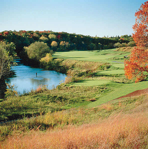 No. 12: Blackwolf Run (River Course); Kohler, Wis.                           Designer: Pete Dye