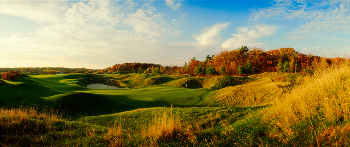 Blackwolf Run (River), No. 89 U.S.                       Almost an afterthought once its sibling, Whistling Straits, burst onto the scene, Blackwolf Run's River now flows with renewed intensity. This resurgence can be attributed to a 2010-11 Pete Dye nip and tuck and the buzz created when nine of its holes helped host a major, the 2012 U.S. Women's Open.