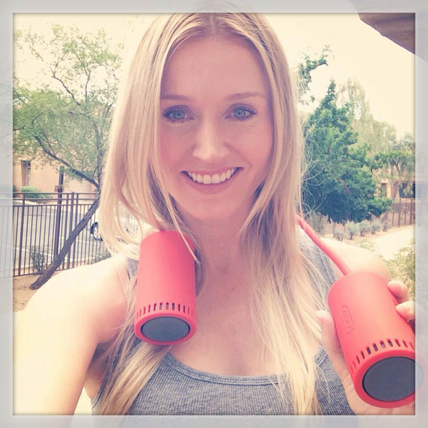 @BLAIRONEAL: Workouts 2 the range- I've got the tunes covered with my @PUMA #SOUNDCHUCK wirelessspeakers! http://