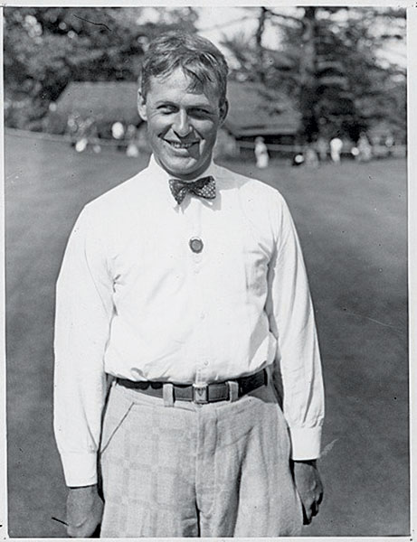 "Jones was a club-chucker                       Since 1955, the USGA's sportsmanship honor has been known as the Bob Jones Award. But Jones' violent temper almost killed his career early on. He heaved a club in the 1916 U.S. Amateur and he hit a woman in the leg with another airborne niblick in the 1921 event. This behavior prompted a blast from USGA president George Walker (great-grandfather of George W. Bush): ""You will never play in a USGA event again unless you can control your temper."""