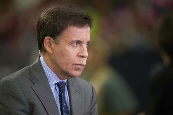 """What no CBS commentator has ever alluded to -- even in passing, even during rain delay, even when there was time to do so -- is Augusta's history of racism and sexism.""                       --Bob Costas on CBS Sports' coverage of the Masters."