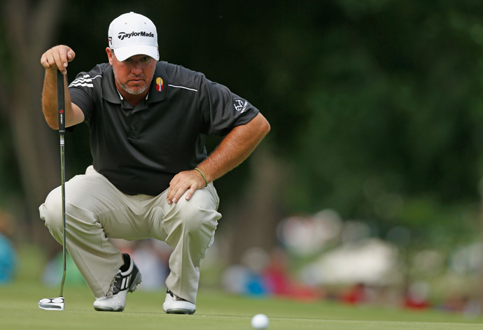 Boo Weekley shot a four-under 66 to move into second place.