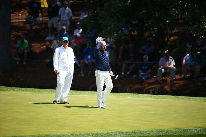 Fred Couples is one of the most popular players in golf, and nowhere more so than Augusta National.