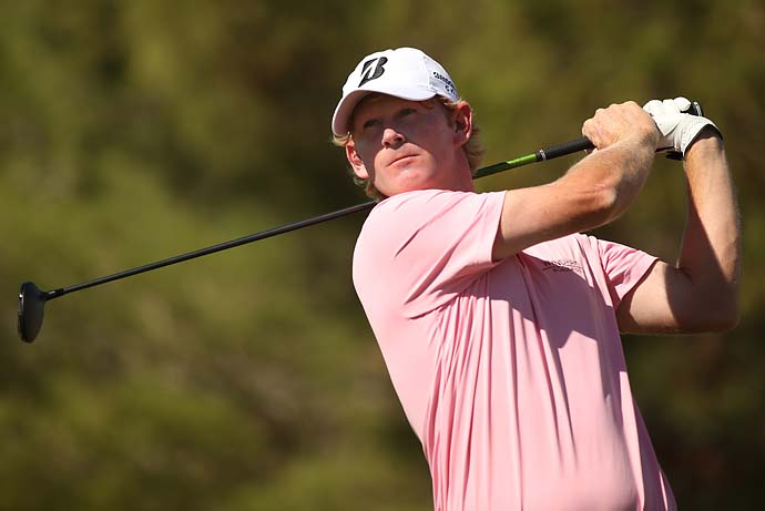 """People give me crap now because I miss a green with a wedge now, 'You can hit a moving skeet with a 4 iron but you can't hit a green with a wedge.'""                           --Brandt Snedeker on the viral video of him hitting a skeet with a 4-iron."