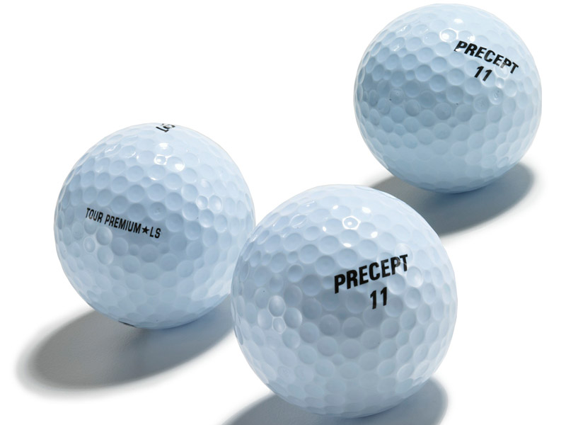 Bridgestone Seamless Cover Technology                       In 2001, Bridgestone released the Precept Tour Premium LS golf ball, the first ball to feature the company's patented seamless cover. Instead of taking two halves and putting them together, Bridgestone perfected injection molding, which is now used in all 14 of the company's balls. Balls without a seam fly farther and more consistently.