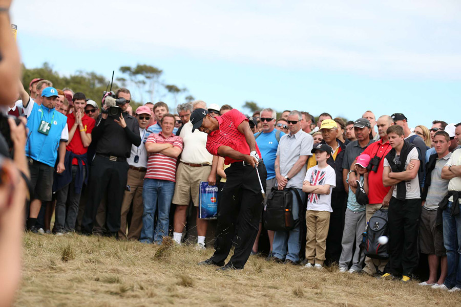 """Even the greatest players to ever play have all gone through little stretches like this,'' said Woods, who has not won a major since the 2008 U.S. Open."