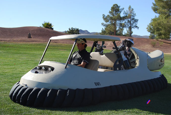 "2: He built a hovercraftHe was the mastermind behind ""Bubba's Hover,"" a golf-hovercraft designed to go over water, through the rough and on the green. ""Who doesn't want to do that?"" Bubba said in the launch video."