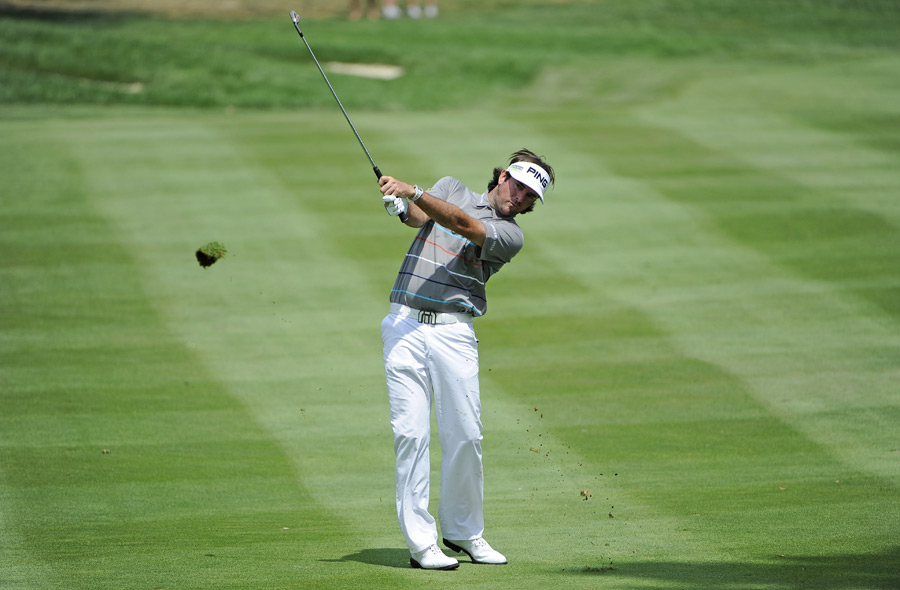 After opening with a 66, Bubba Watson has shot rounds of 73 and 72.