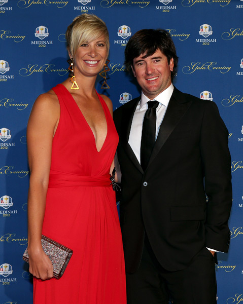 Bubba Watson and his wife, Angie.