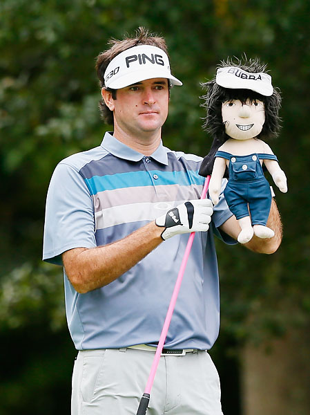 """I'd quit the game before I do that.""                           --Bubba Watson on hiring a swing coach or a mental game coach."