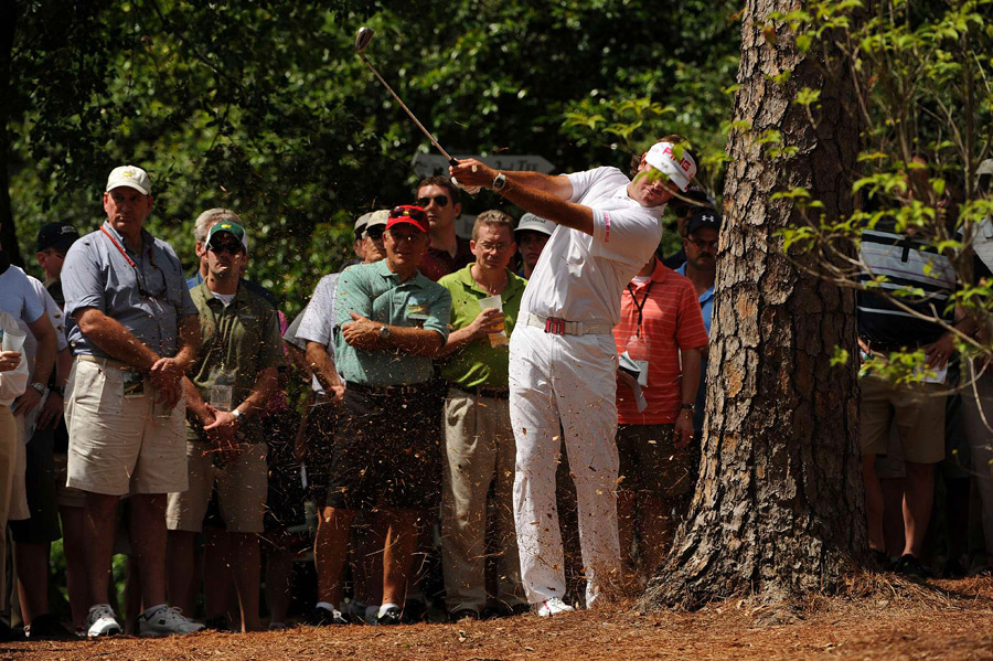 Bubba Watson made five birdies and two bogeys for a 69.