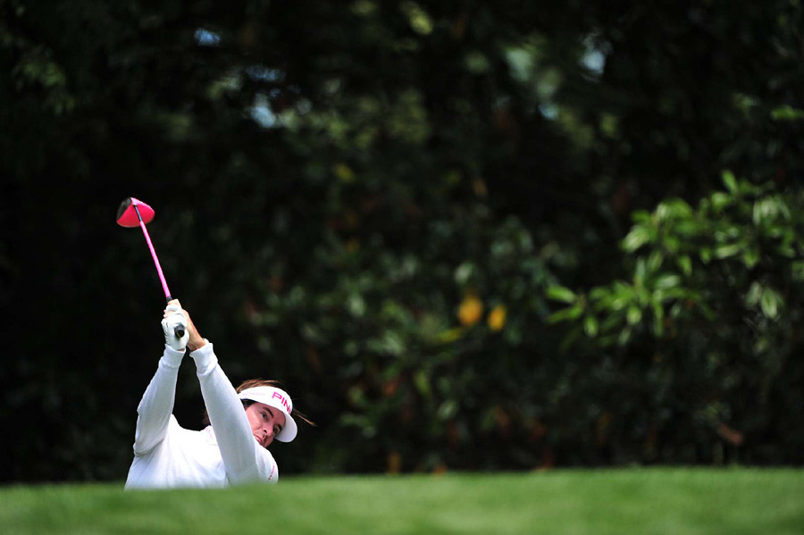 Bubba Watson made three birdies on the back nine for a one-under 71.