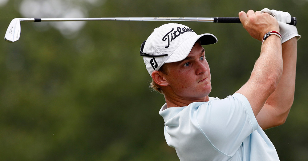 Bud Cauley made birdies on 15, 16 and 17 to shoot a 66.