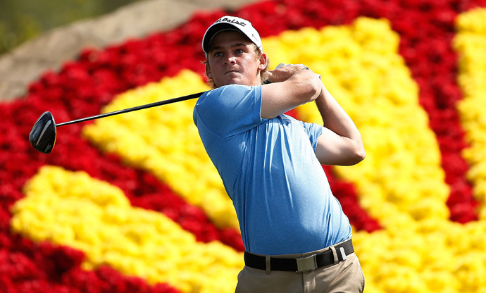 Bud Cauley made two double bogeys in his round of two-over 74.