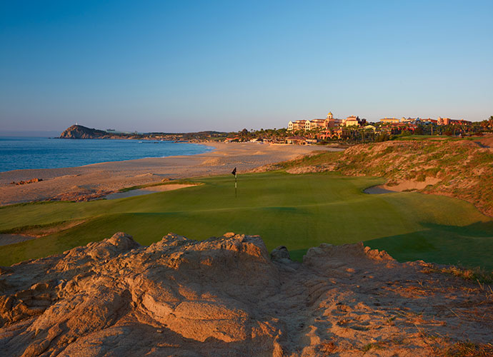 Cabo del Sol (Ocean), Los Cabos                           The most spectacular south-of-the-border experience since the original Cinco de Mayo, this 1994 Jack Nicklaus design features back-to-back oceanside par-3s on the front side and a closing trio that's Mexico's best. Cactus-covered hillsides and Sea of Cortez backdrops are highlights.