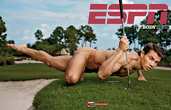 "Even for a guy as cut as Camilo, posing naked can be nerve-racking, as he learned when he was included in ESPN The Magazine's Body Issue in October 2010. ""It was uncomfortable,"" Villegas told The New York Times. ""Getting naked in front of a camera is not what I do for a living. In those moments when it was really awkward, I kept thinking I've worked really hard to accomplish these results, and that helped me to relax."""