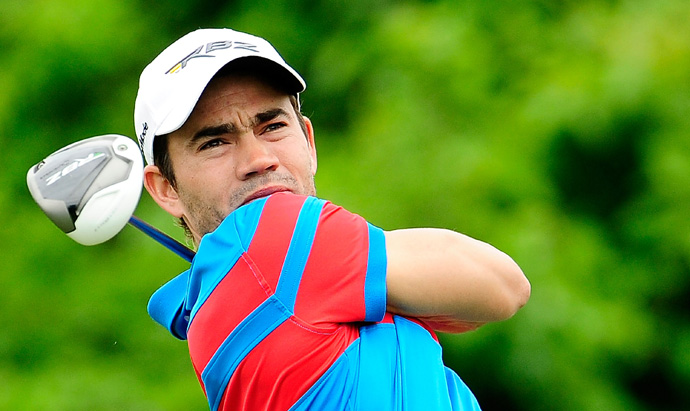 Camilo Villegas missed the cut after rounds of 73 and 72.