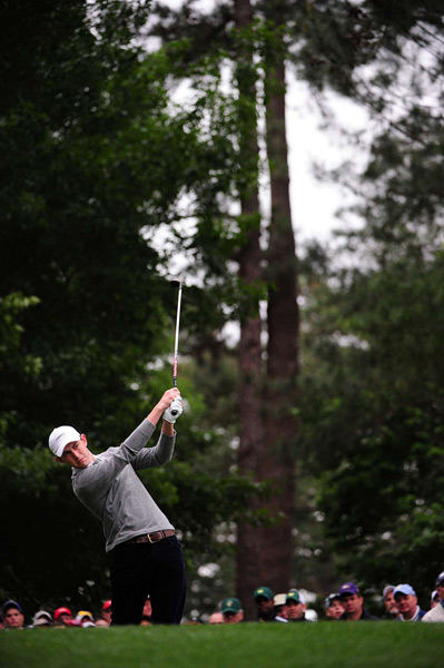 Amateur Patrick Cantlay shot a 71 on Thursday, but he struggled to a 78 on Friday.