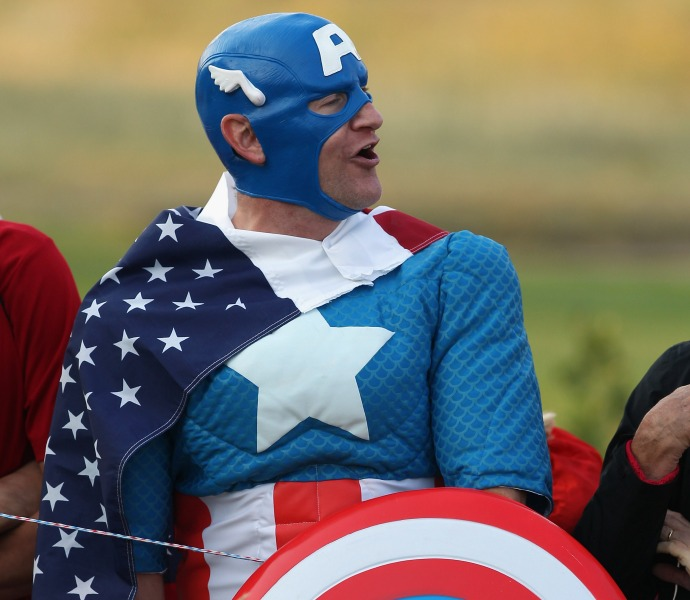 You know it's a big event when Captain America takes time out of his crime-fighting schedule to show up.