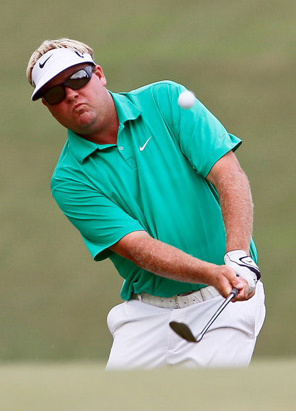 Carl Pettersson made four birdies and two bogeys for a 68.