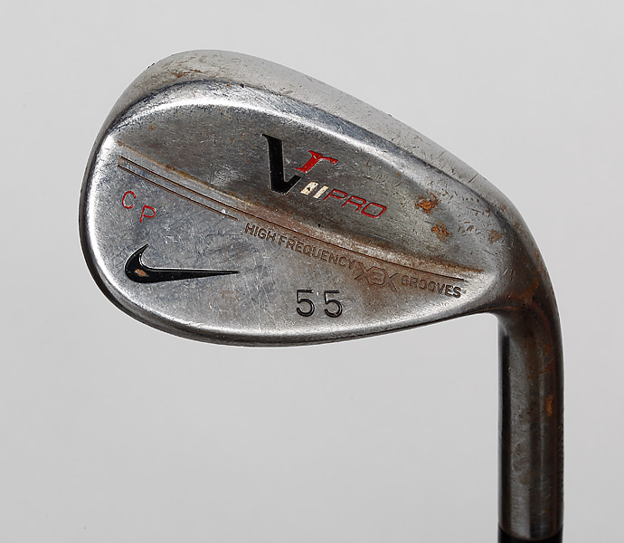 Wedges: Nike VR Pro 49-degree, 55-degree and 60-degree
