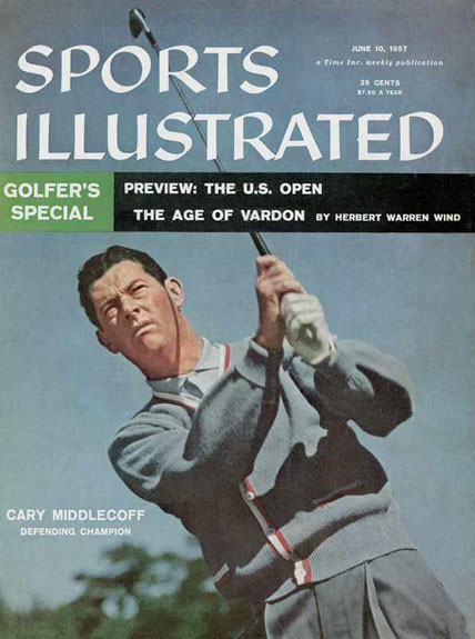 1957 U.S. Open Preview: Defending Champion Cary Middlecoff, June 10, 1957