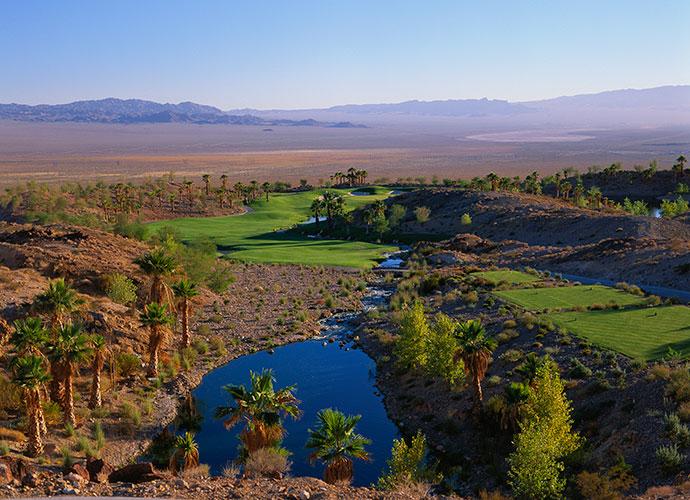 60. Cascata Boulder City, Nev.; Rees Jones (2000) -- $245-$425, golfcascata.com