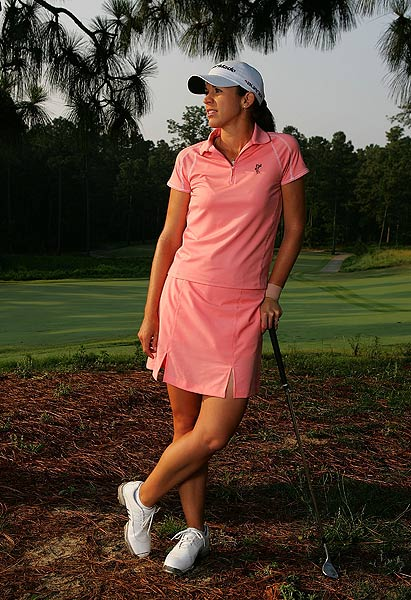 "Nicole Castrale                           Height: 5'8""                           Birth Place: Glendale, Calif.                           Career Victories: 1                                                      Castrale made her mark on the LPGA last year when she defeated Ochoa on the first hole of a sudden-death playoff at the Ginn Tribute Hosted by Annika."