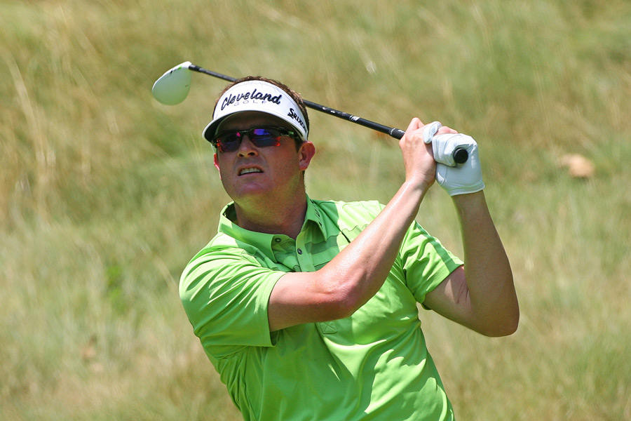 Charlie Beljan shot an eight-under 62 to finish one shot off the lead.