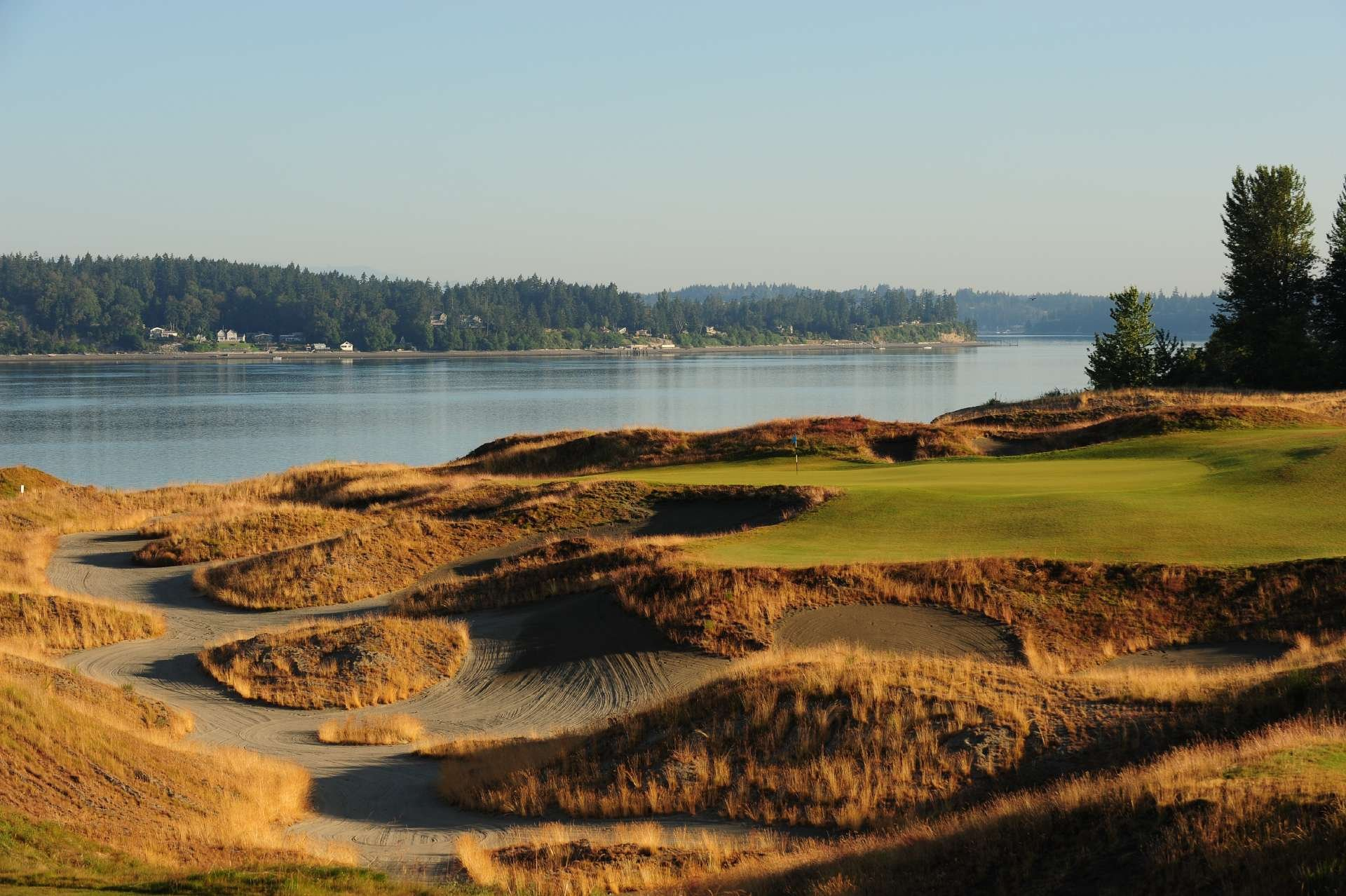 Chambers Bay hosted its first U.S. Open in 2015, its terrain, difficulty and coverage becoming a polarizing topic of discussion in the golf world.
