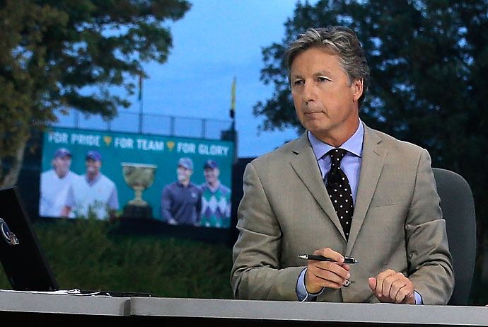 """Literally and figuratively he doesn't have the firepower he used to have. He's got to win with different nuances.""                       --Brandel Chamblee on Tiger Woods."