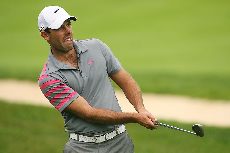 Charl Schwartzel also finished with a 65 on Thursday.