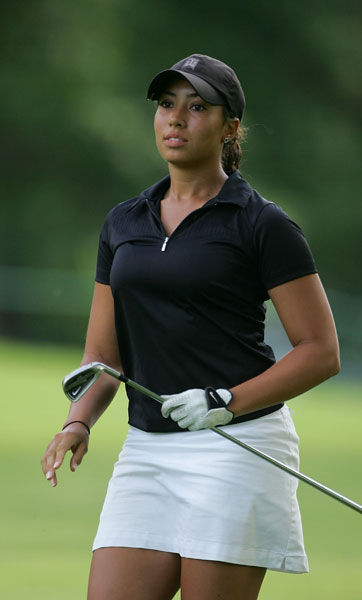Woods decided on a career in golf after seeing her uncle win the Masters by 12 strokes in 1997.