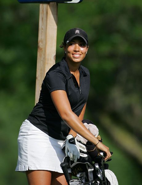 Woods is the daughter of Earl Woods Jr., who is the son of Tiger's father from a previous marriage.