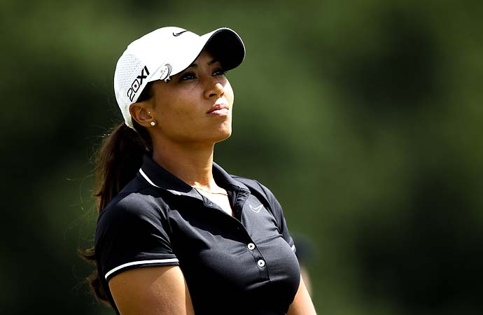 """I want to be an established player on the LPGA tour, respected as a golfer rather than --  y'know, Tiger Woods' niece. But I realize it comes with the territory.""                           --Cheyenne Woods on her famous uncle."